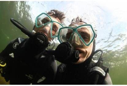 Zapoznawcze nurkowanie z podwodną sesją zdjęciową dla dwojga na Litwie