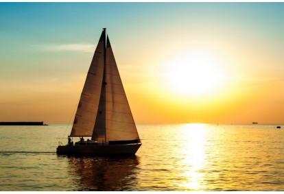 Romantiškas pažintinis plaukimas jachta Kuršių mariose