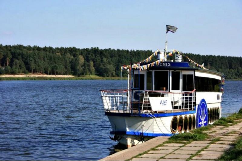 Pływanie zakolami Niemna dla dwojga w Birsztanach na Litwie