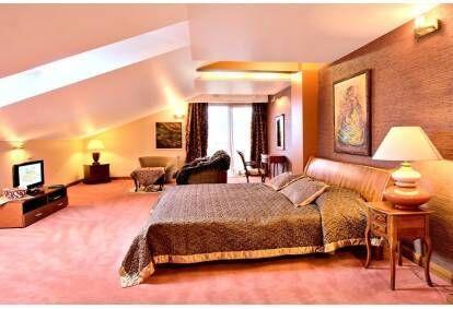 """Romantiškas poilsis + pirčių kompleksas """"Pažaislis Park Hotel"""""""