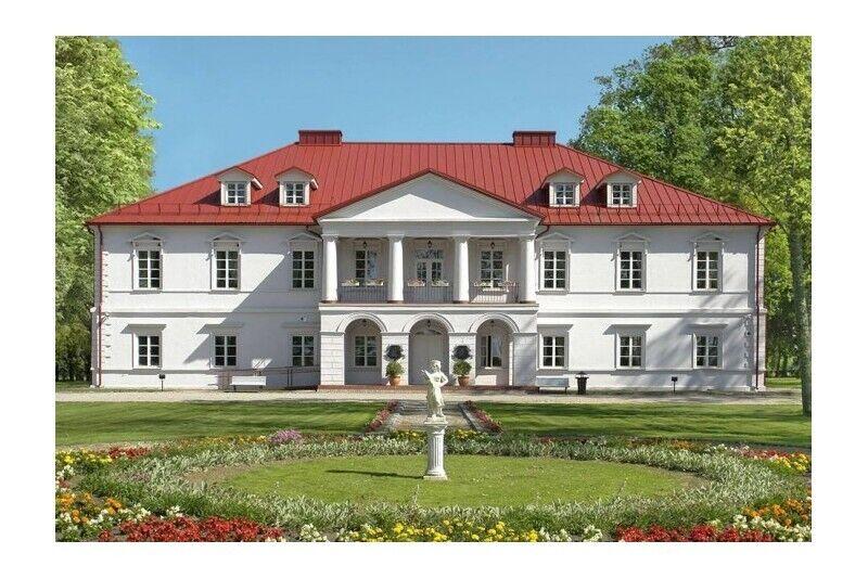 Klimatyczny pobyt ze SPA dla dwojga w dworze Bistrampolis na Litwie