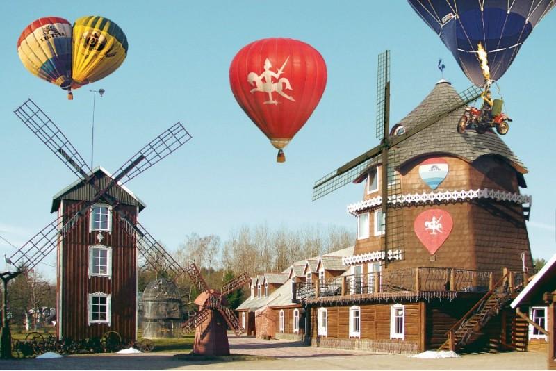 Romantyczny lot balonem i nocleg ze śniadaniem