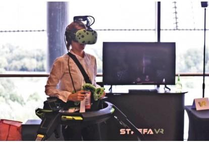 Gra wirtualnej rzeczywistości Virtuix Omni dla 1 - 2 osób