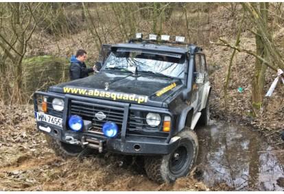 Szkolenie z jazdy samochodem terenowym Nissan Patrol GR