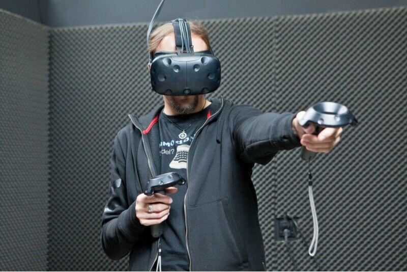 Sesja wirtualnej rzeczywistości w Warszawie