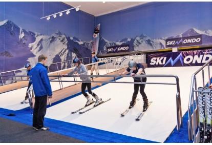 Trening narciarski dla dwojga w Gdańsku