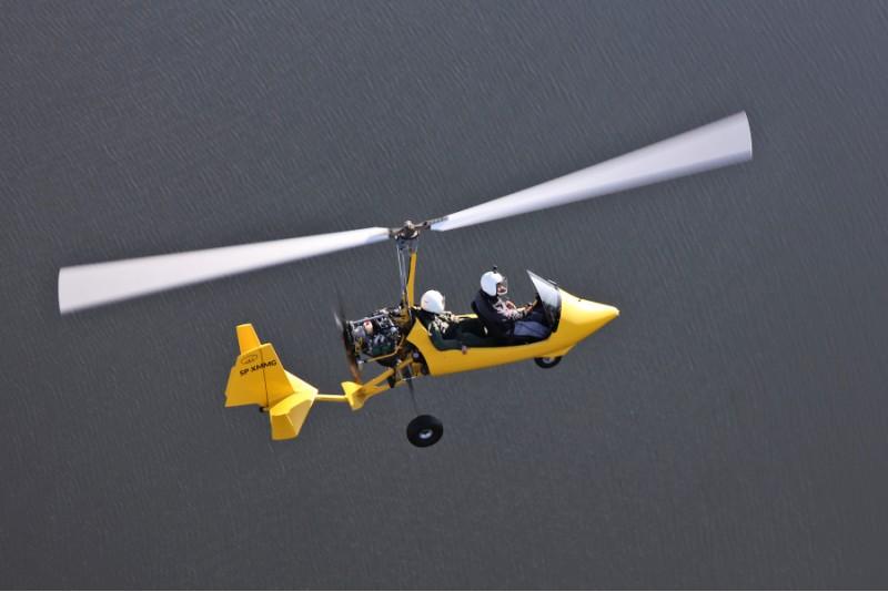 Lot zapoznawczy wiatrakowcem w Trójmieście