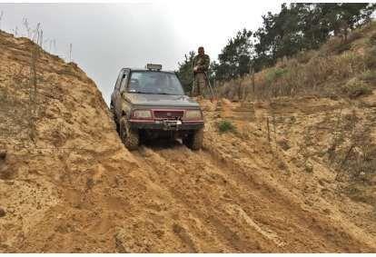 Terenowa jazda 4x4 off-road za kierownicą dla dwojga