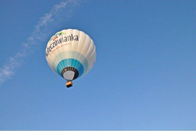 Lot balonem w Nałęczowie