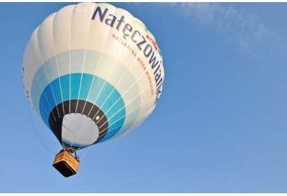 Lot balonem na wyłączność dla dwojga w Nałęczowie