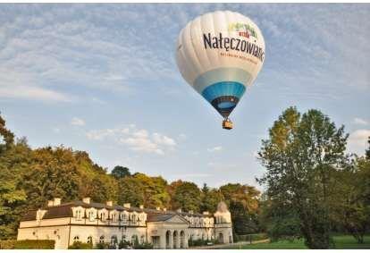 Romantyczny lot balonem na wyłączność w Nałęczowie