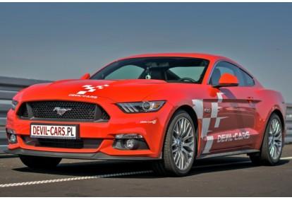 Przejażdżka samochodem Ford Mustang jako pasażer