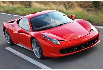 Przejażdżka samochodem Ferrari 458 Italia jako pasażer