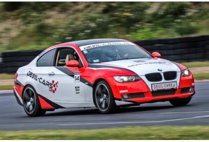 Przejażdżka samochodem BMW BiTurbo Performance jako pasażer