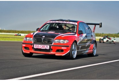 Przejażdżka samochodem BMW M Power E46 jako pasażer