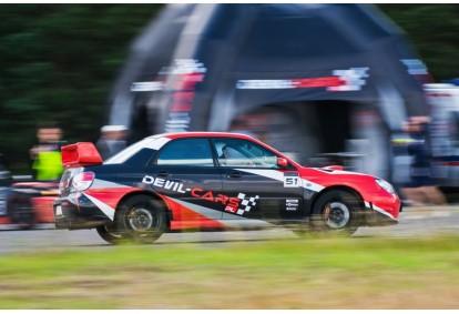 Przejażdżka samochodem Subaru Impreza WRX jako pasażer