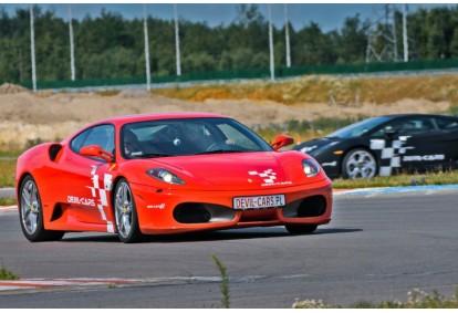 Przejażdżka za kierownicą samochodu Ferrari F430