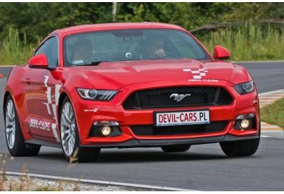 Przejażdżka za kierownicą samochodu Ford Mustang