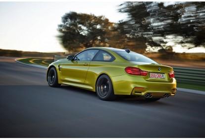 Przejażdżka samochodem BMW M4 jako pasażer