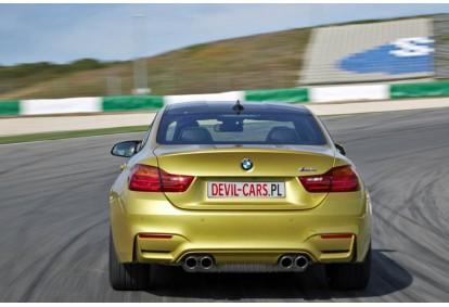 Przejażdżka samochodem BMW M4 jako pasażer na torze głównym Poznań
