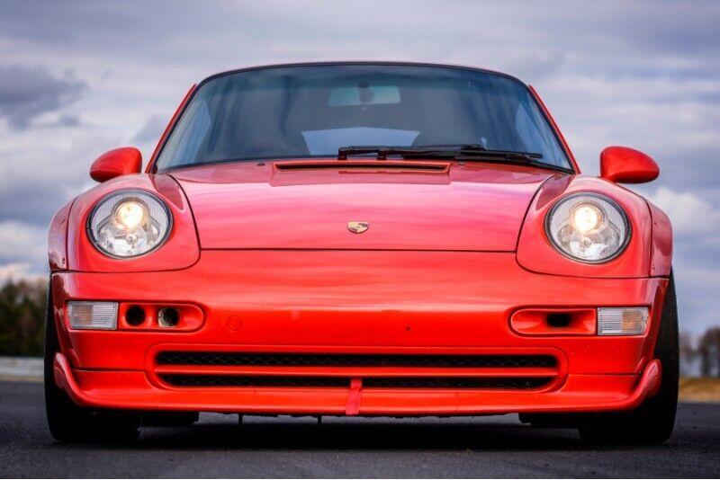 Jazda miejska Porsche 911 (993) GT2 Look