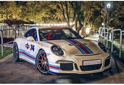 Super Taxi Drive u Porsche 911 (991) w specyfikacji GT3