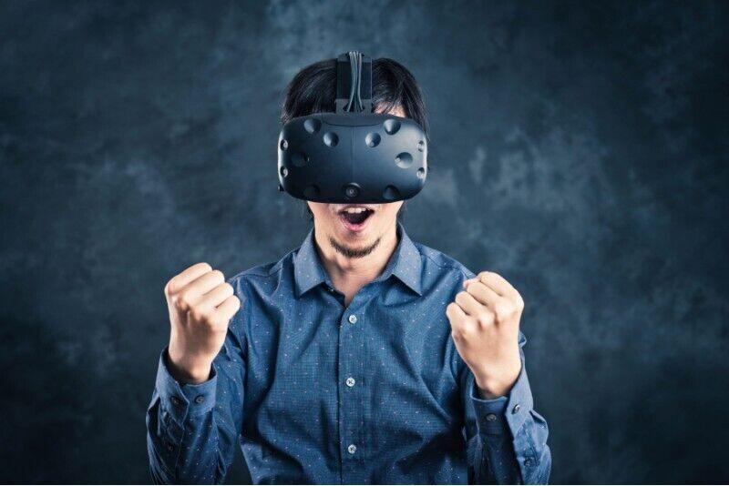 Zabawa w salonie wirtualnej rzeczywistości VR Warsaw