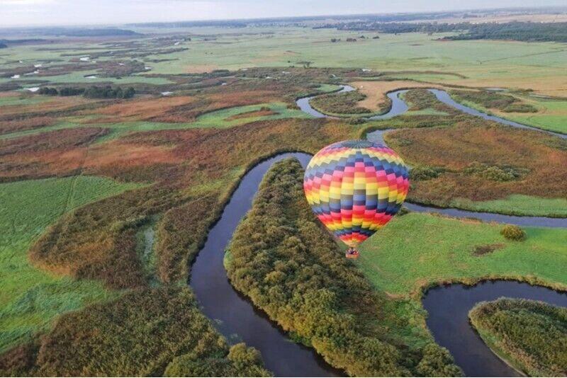 Romantyczny lot balonem dla dwojga