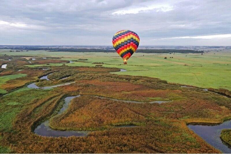 Ekskluzywny lot dużym balonem dla 4 osób
