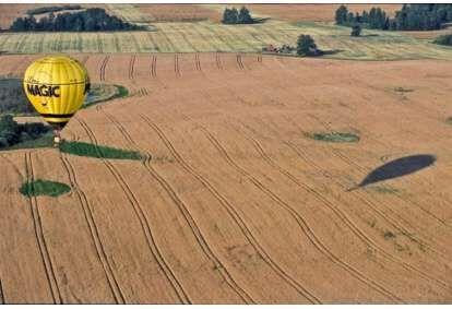 Ekskluzywny lot balonem-sesja fotograficzna