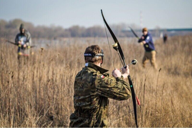 Archery Games w plenerze dla 1 osoby w Warszawie