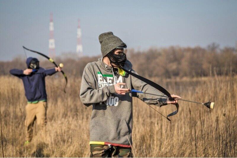 Archery Games w plenerze dla grupy w Warszawie