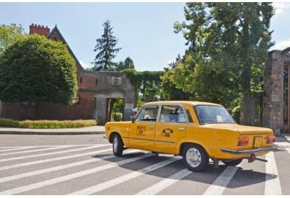 Wycieczka z przewodnikiem Fiatem 125p w Warszawie