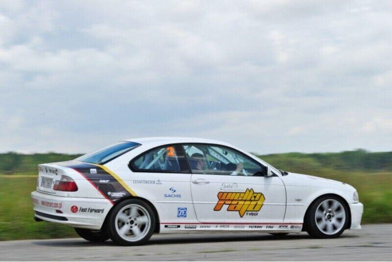 Przejazd w roli pasażera samochodem BMW z Fast Forward