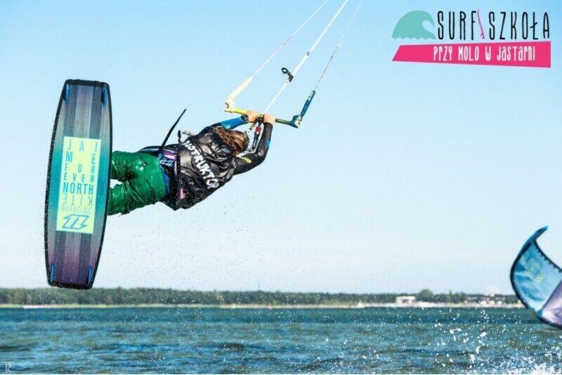 Kurs kitesurfingu w Jastarni