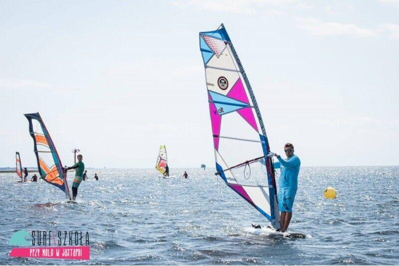 Kurs windsurfingu dla dwojga Dobry Początek w Jastarni