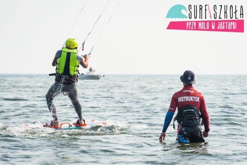 Kurs kitesurfingu Refreshing dla dwojga w Jastarni