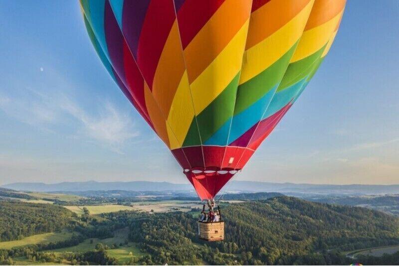 Lot balonem w wybranym mieście