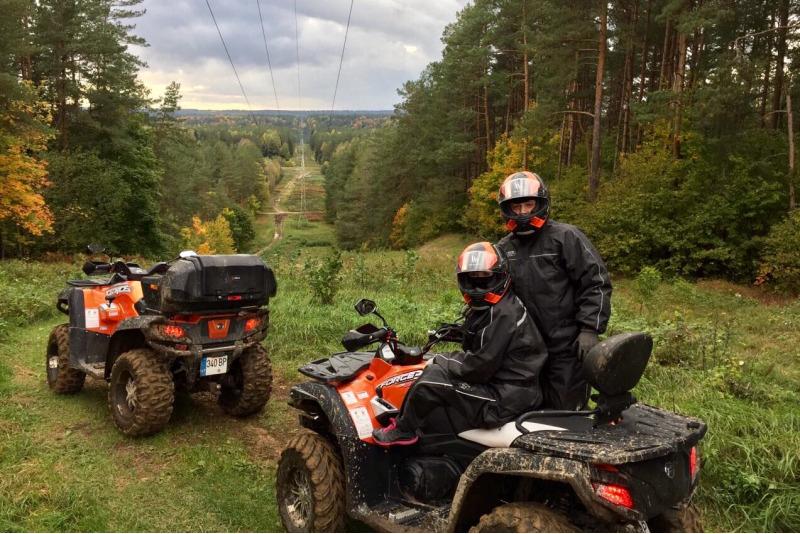 Przejażdzka Quadem dla 1-3 osób w Druskiennikach na Litwie