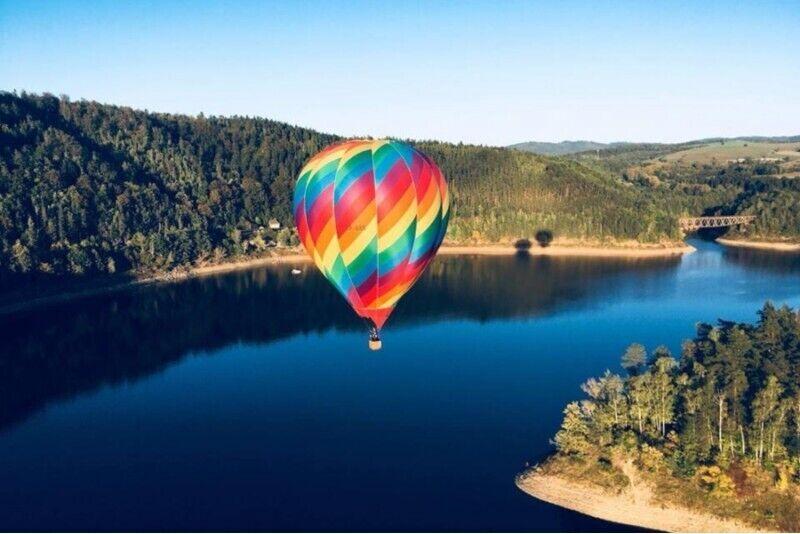 Lot balonem VIP w okolicach Jeleniej Góry