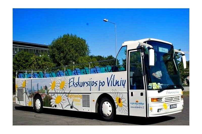 Wycieczka otwartym autobusem dla dwojga po Wilnie na Litwie