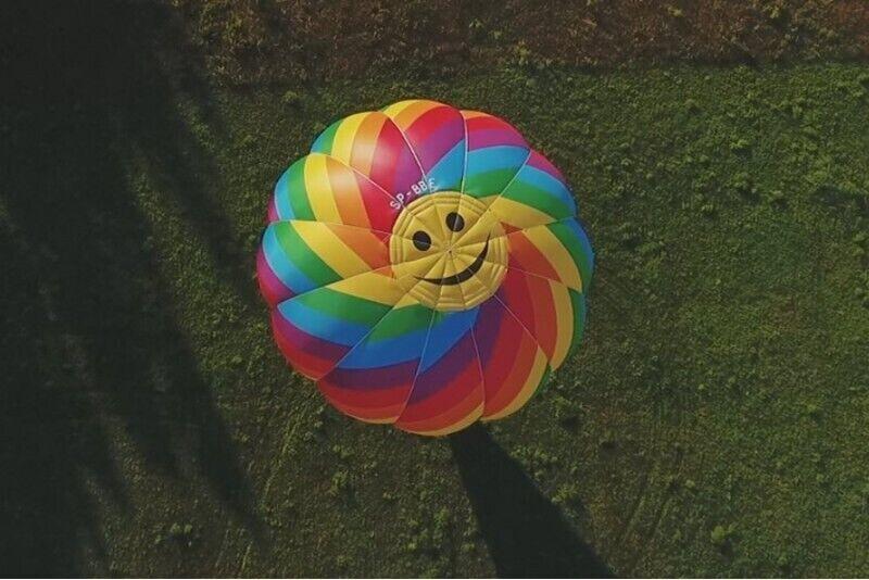 Lot rodzinny balonem w wybranym mieście