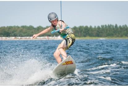 Wakeboarding we Władysławowie