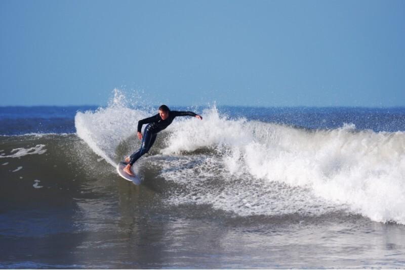 Lekcja surfingu we Władysławowie