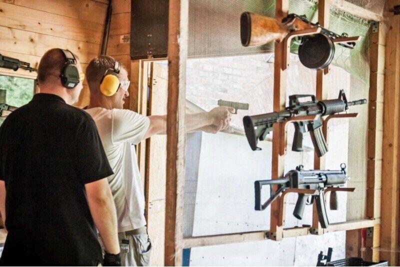 Strzelanie z pakietem EXTREME SHOOTING w Krakowie