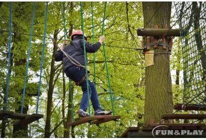 Pobyt w parku linowym Fun&Play