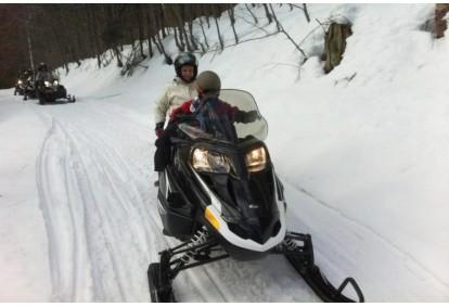 Jazda skuterem śnieżnym w wybranym miejscu