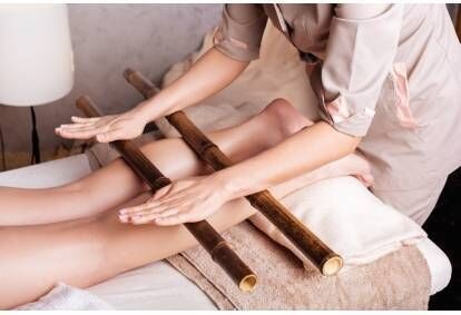 Masaż relaksacyjny bambusem królewskim w Krakowie