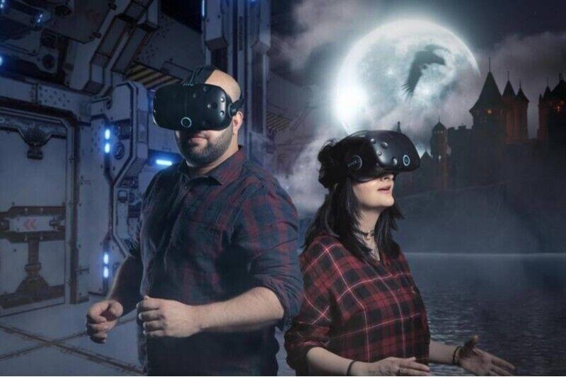 Gra w wirtualnej rzeczywistości w Ostrołęce dla dwojga