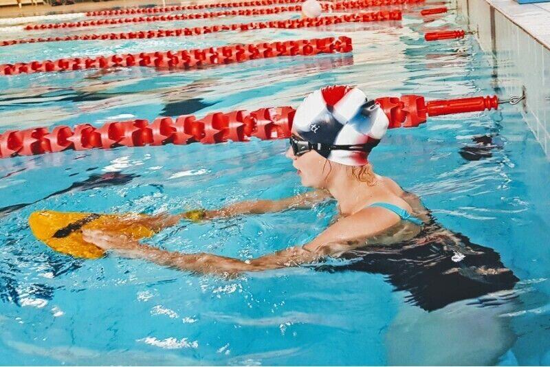Lekcja pływania w Warszawie